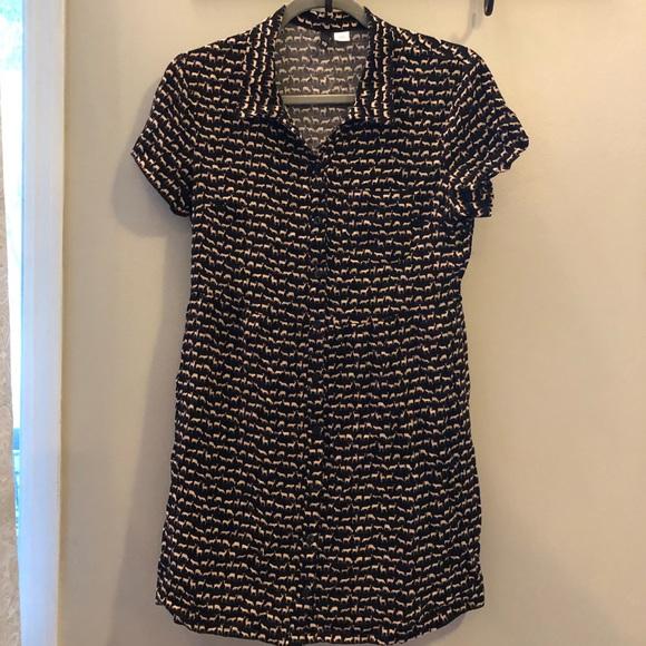 H&M Dresses & Skirts - H&M Divided deer design collared dress